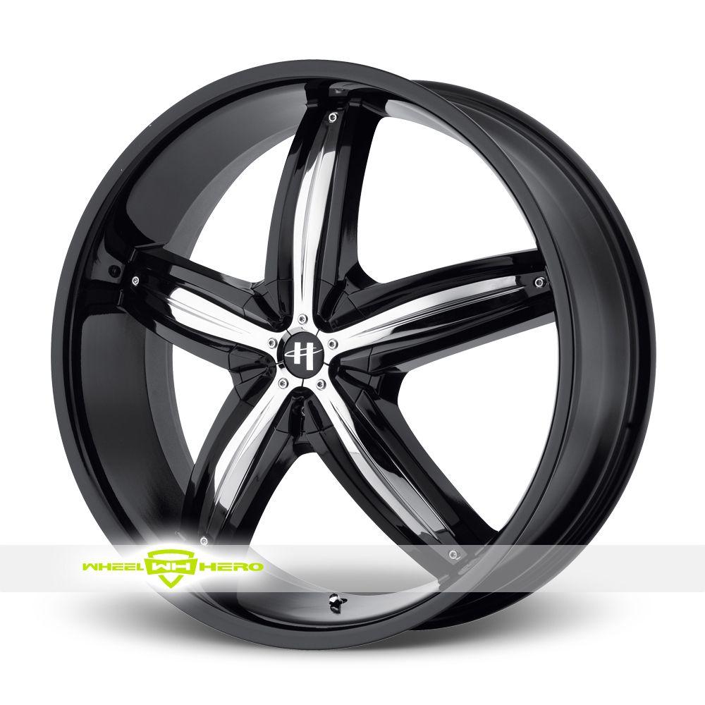 Helo HE844 Black Wheels For Sale - For more info: http://www.wheelhero.com/customwheels/Helo/HE844-Black