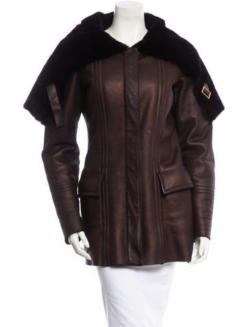 9e33d97d8 Gucci Shearling Coat therealreal