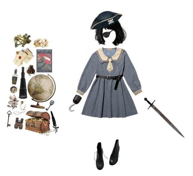 """""""Pirate Kid"""" by goodbyekittysholl ❤ liked on Polyvore featuring Edition, Masquerade, ASOS, Fendi, Sissa, Rachel and Fountain"""