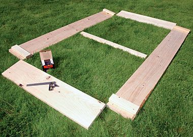 Exceptionnel The Simplest Raised Bed To Make
