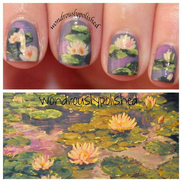 Monet Waterlilies inspired