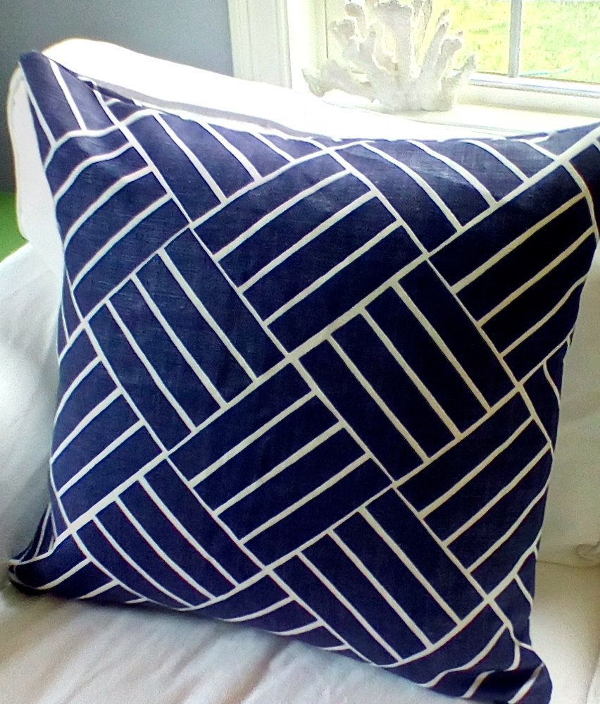 A personal favorite from my Etsy shop https://www.etsy.com/listing/220898318/pair-lulu-dk-plantation-euro-shams-in