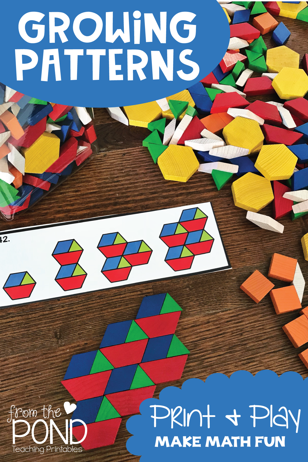 Growing Pattern Activity Cards