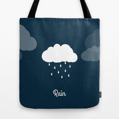 Weather - Rain Tote Bag