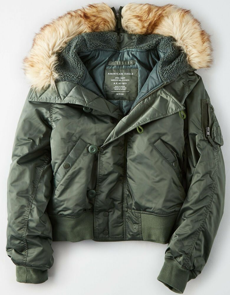 Details about NWT American Eagle Women's AE FLEECELINED