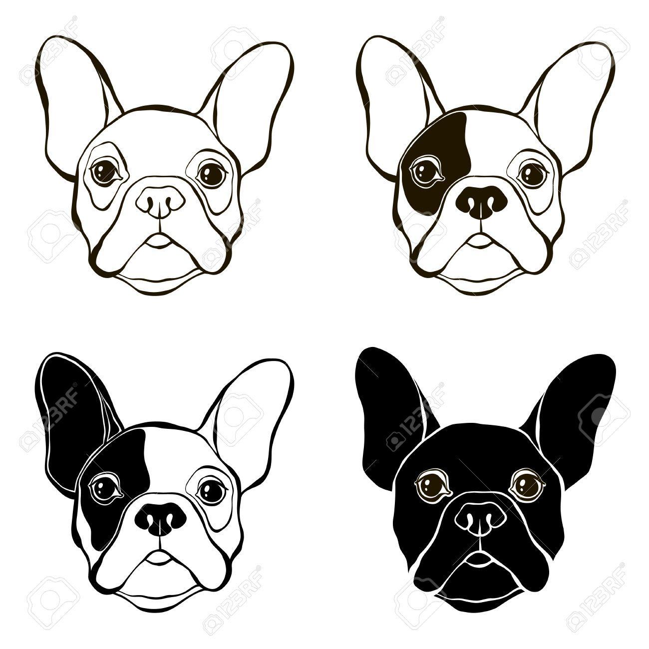 Pin By Jennifer Woodrow On Bull Dog French Bulldog Drawing