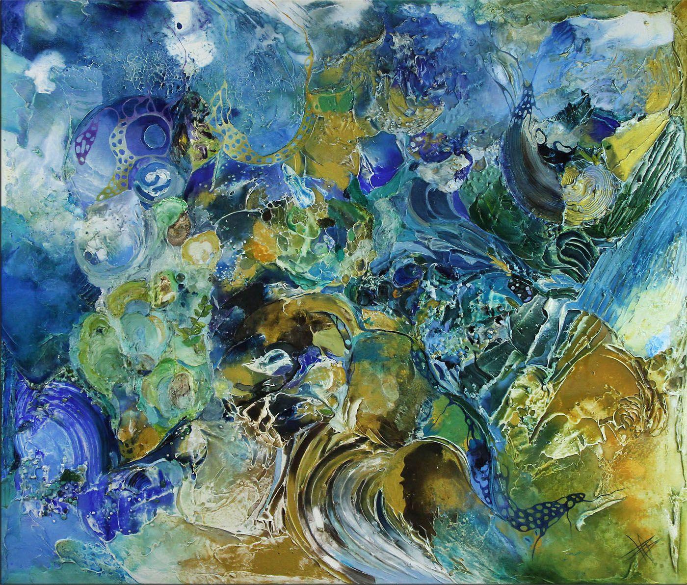 Moderne Ölbilder B Ossowski