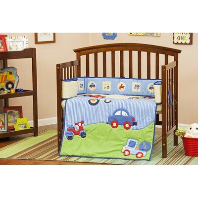 Dream On Me Travel Time Portable 3 Piece Crib Bedding Set Products
