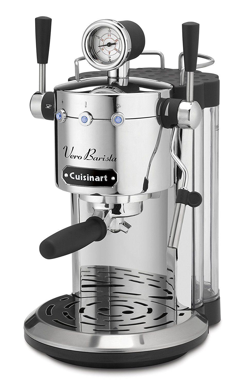 Cuisinart vero barista espresso cappuccino lattes maker