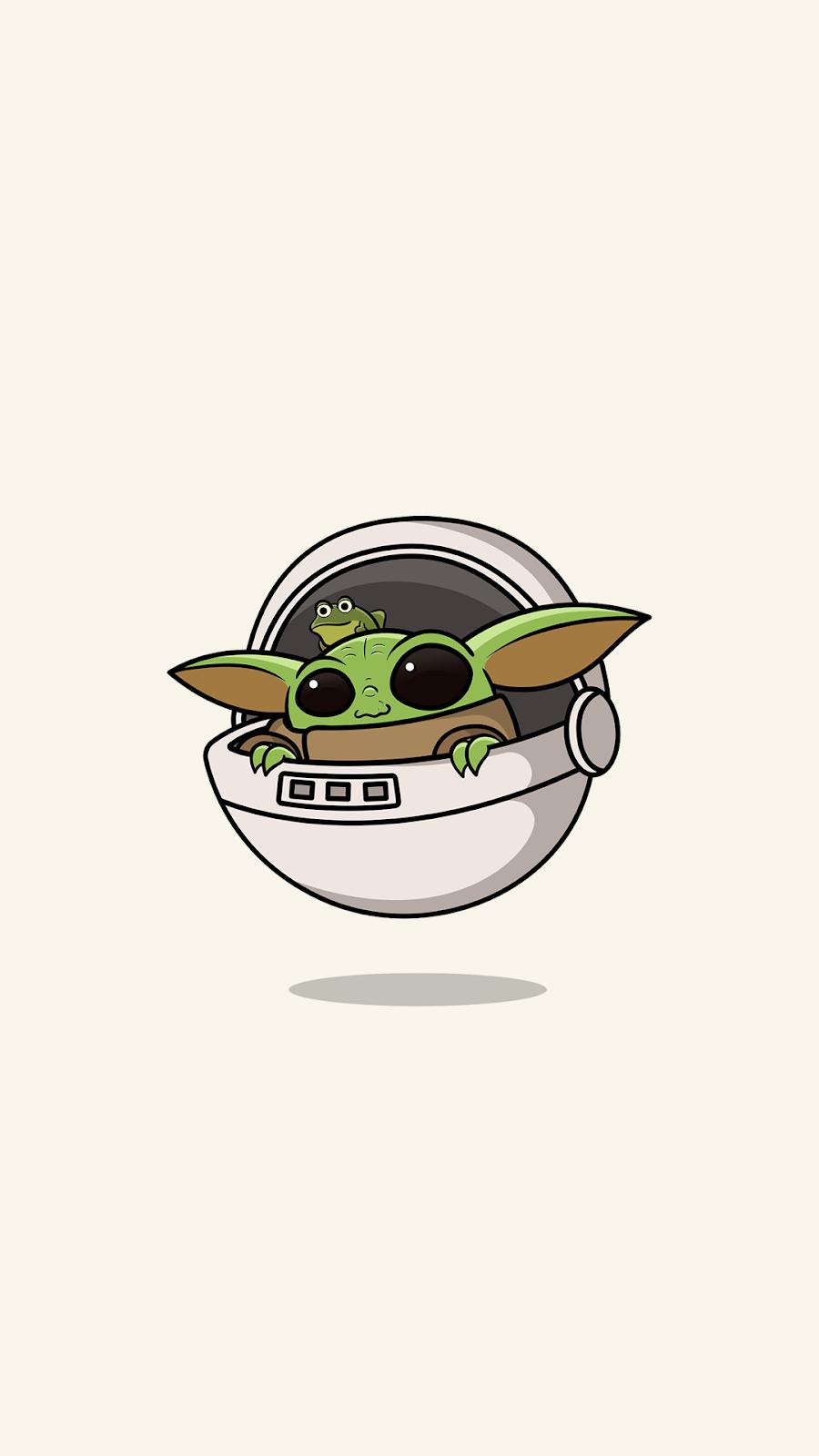Baby Yoda Wallpapers for Phone HeroScreen in 2020 Yoda