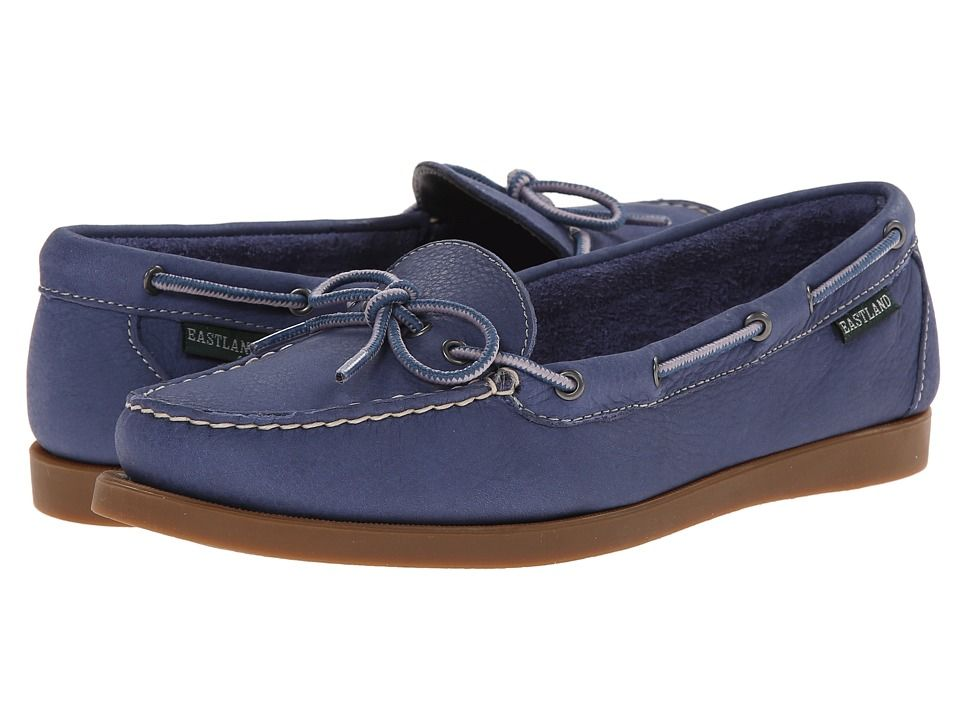 5c6edda5993 EASTLAND EASTLAND - YARMOUTH (BLUE NUBUCK) WOMEN S SHOES.  eastland  shoes