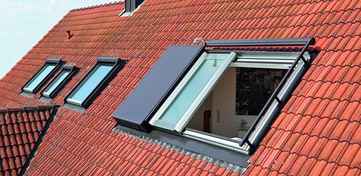 Panorama Dachfenster Azuro Roto Dach Und