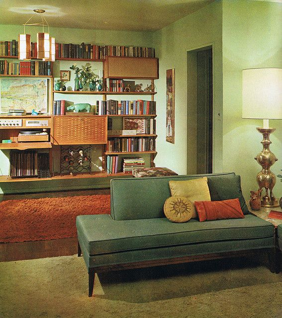 Interior Decoration A To Z From Betty Pepis 1965 Retro Living Rooms Mid Century Modern Interiors Mid Century Modern Decor