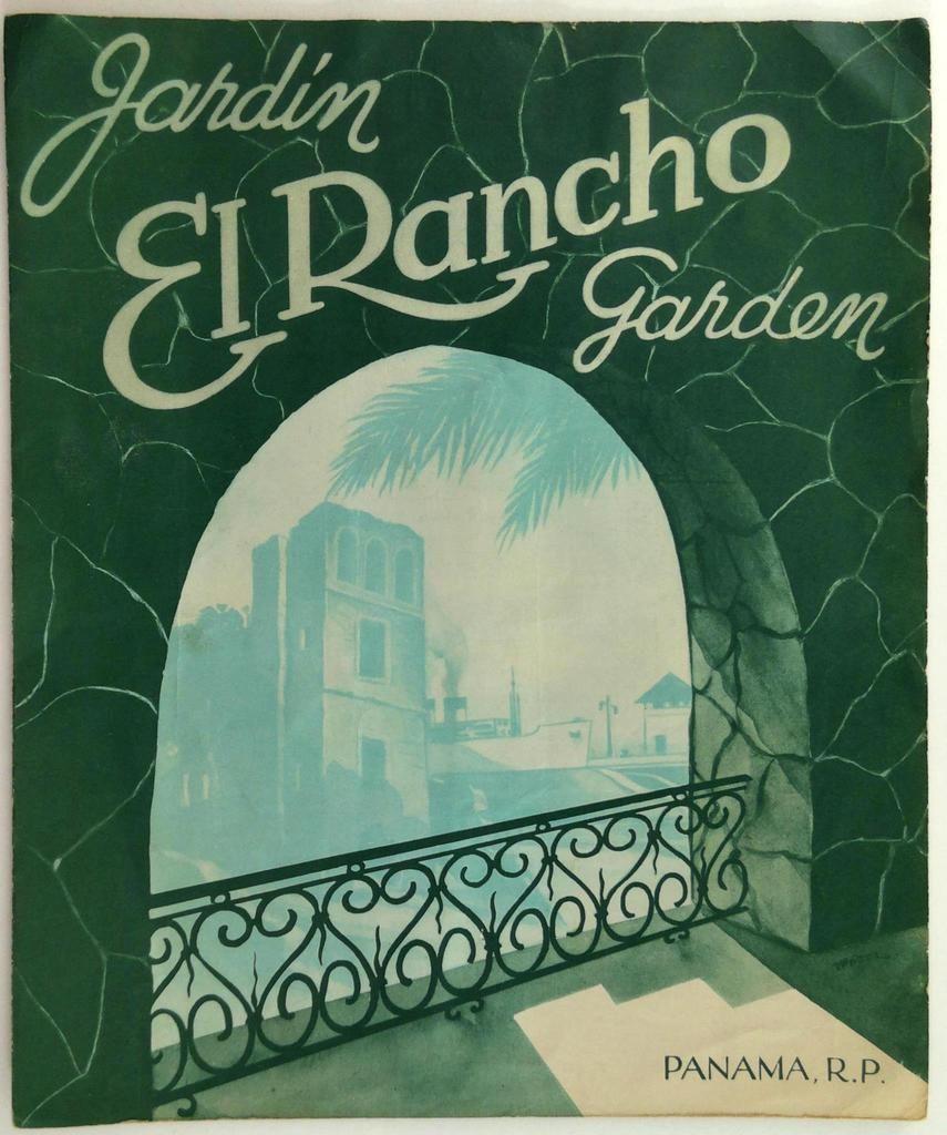Vintage El Rancho Garden Original Restaurant Menu Republic