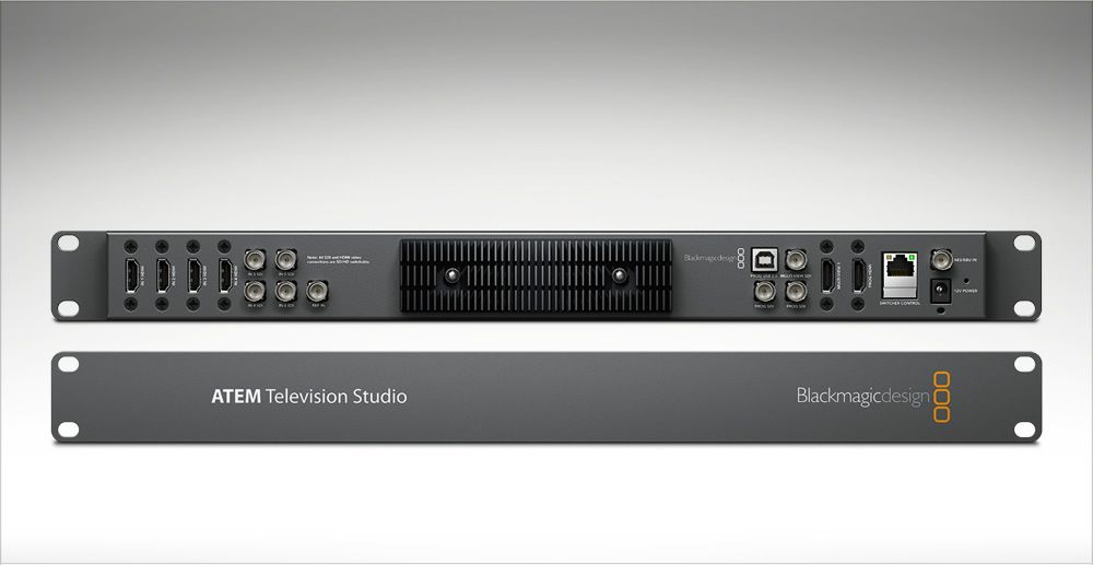ATEM Television Studio  Multi-camera switching and built-in H 264