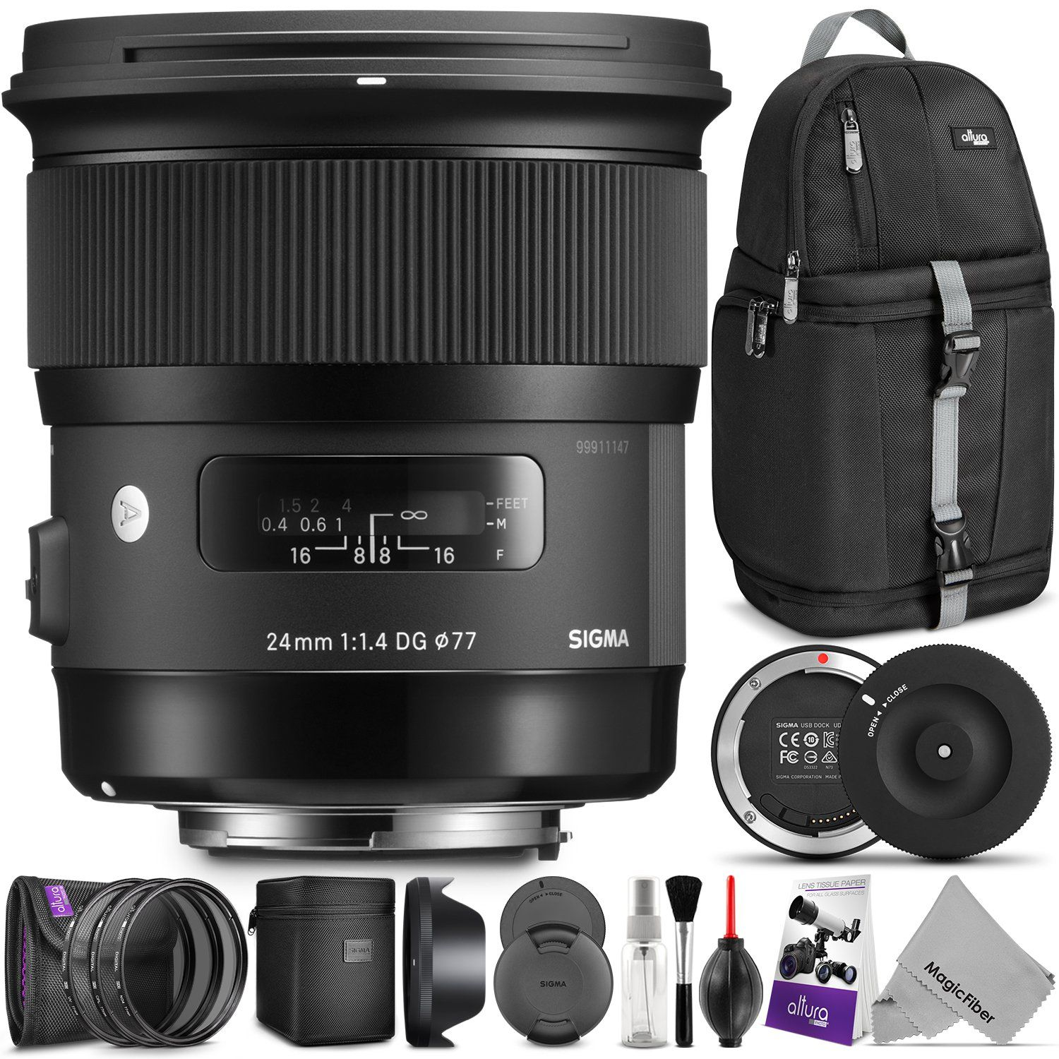 Sigma 24mm F1 4 Art Dg Hsm Lens For Canon Dslr Cameras W Sigma Usb Dock And Advanced Photo And Travel Bundle Check O Canon Dslr Camera Dslr Camera Usb Dock
