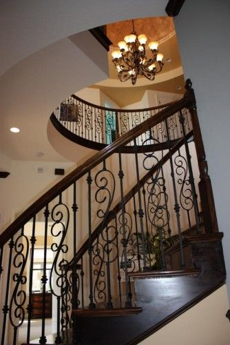 Best Stairs Wrought Iron Railings Painted Wood Work Trim 640 x 480