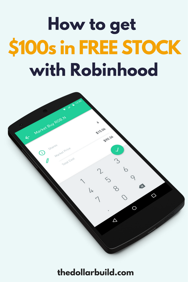 How to get 100s in free stock using Robinhood How to