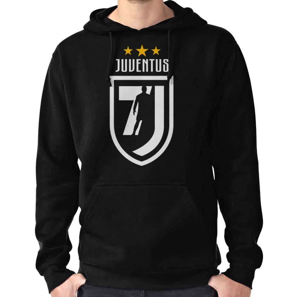 412ed2091 Cristiano Ronaldo Juventus Hoodie (Pullover) in 2019