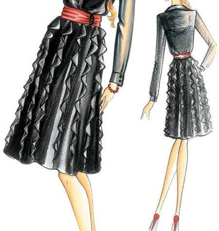 Marfy Skirt | Marfy, mc calls, butterick, simplicity, vogue sewing ...