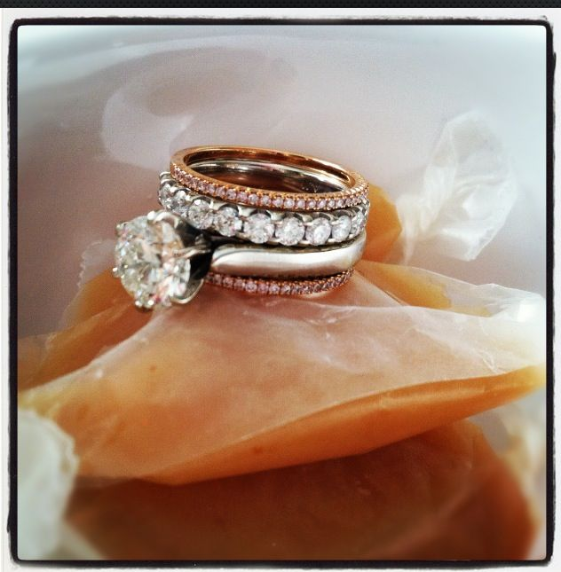 Stacked Wedding Rings, Stackable