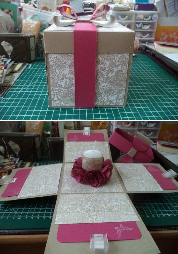 ma crea en atelier stampin up pinterest boite bougies et offrir. Black Bedroom Furniture Sets. Home Design Ideas
