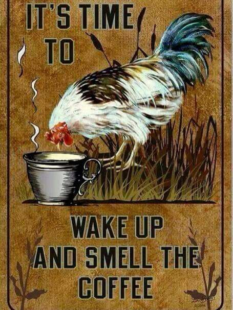 It's time to wake up...