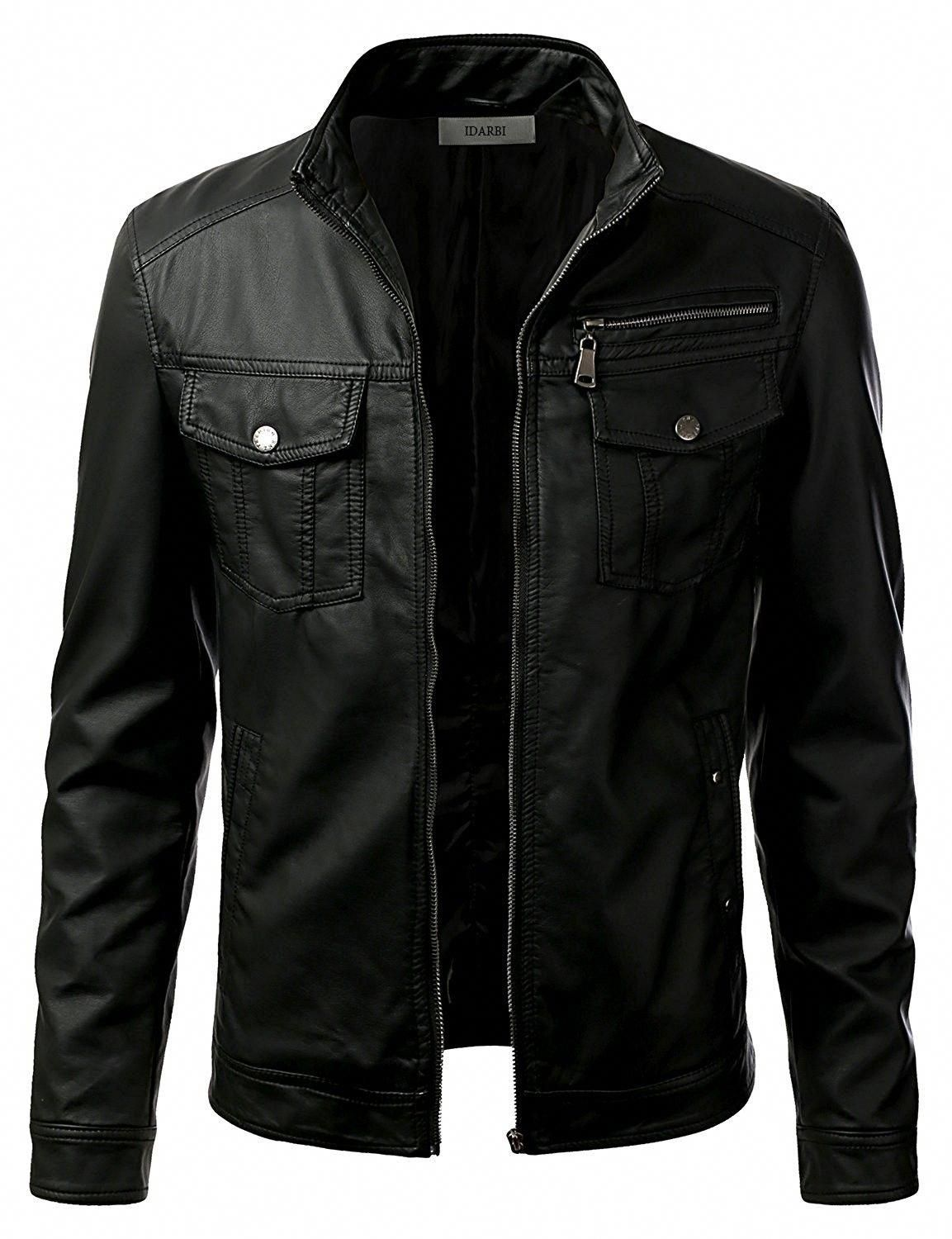 Men's Clothing, Jackets & Coats, Leather & Faux Leather