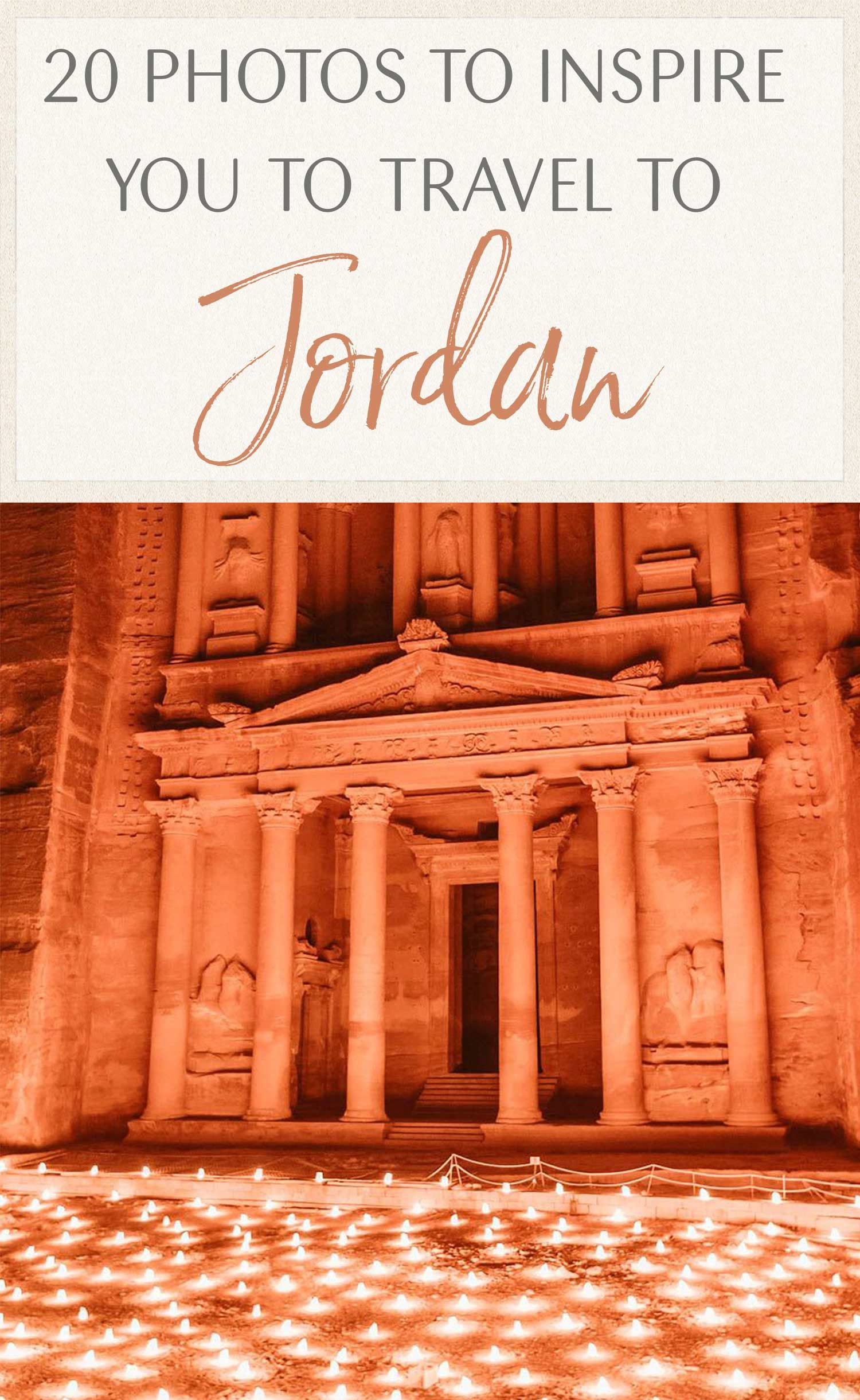 20 Photos to Inspire You to Visit Jordan #traveltojordan