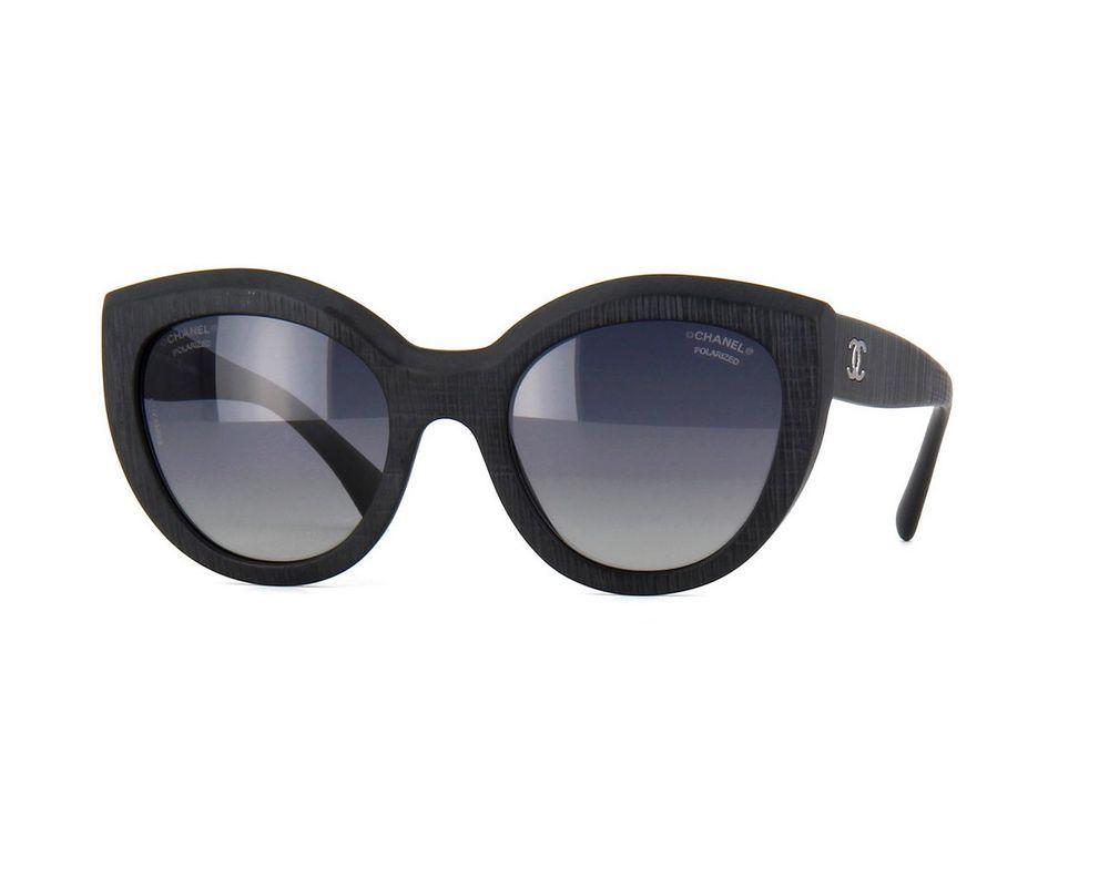 1caa4a8ec31c New Summer 2015 Chanel 5332 Black Women Sunglasses Authentic Polarized &  Case #CHANEL #Designer