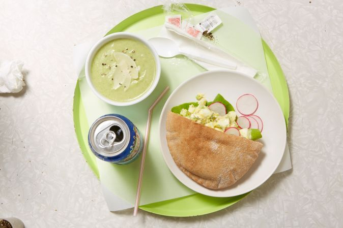 No-Cream Cream of Broccoli Soup | Rachael Ray Mag