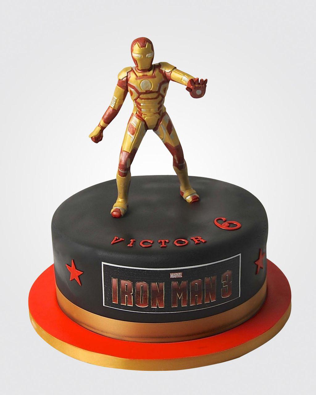 Iron Man Cake Sp2762 【iron Man】 Ironman Cake Cake