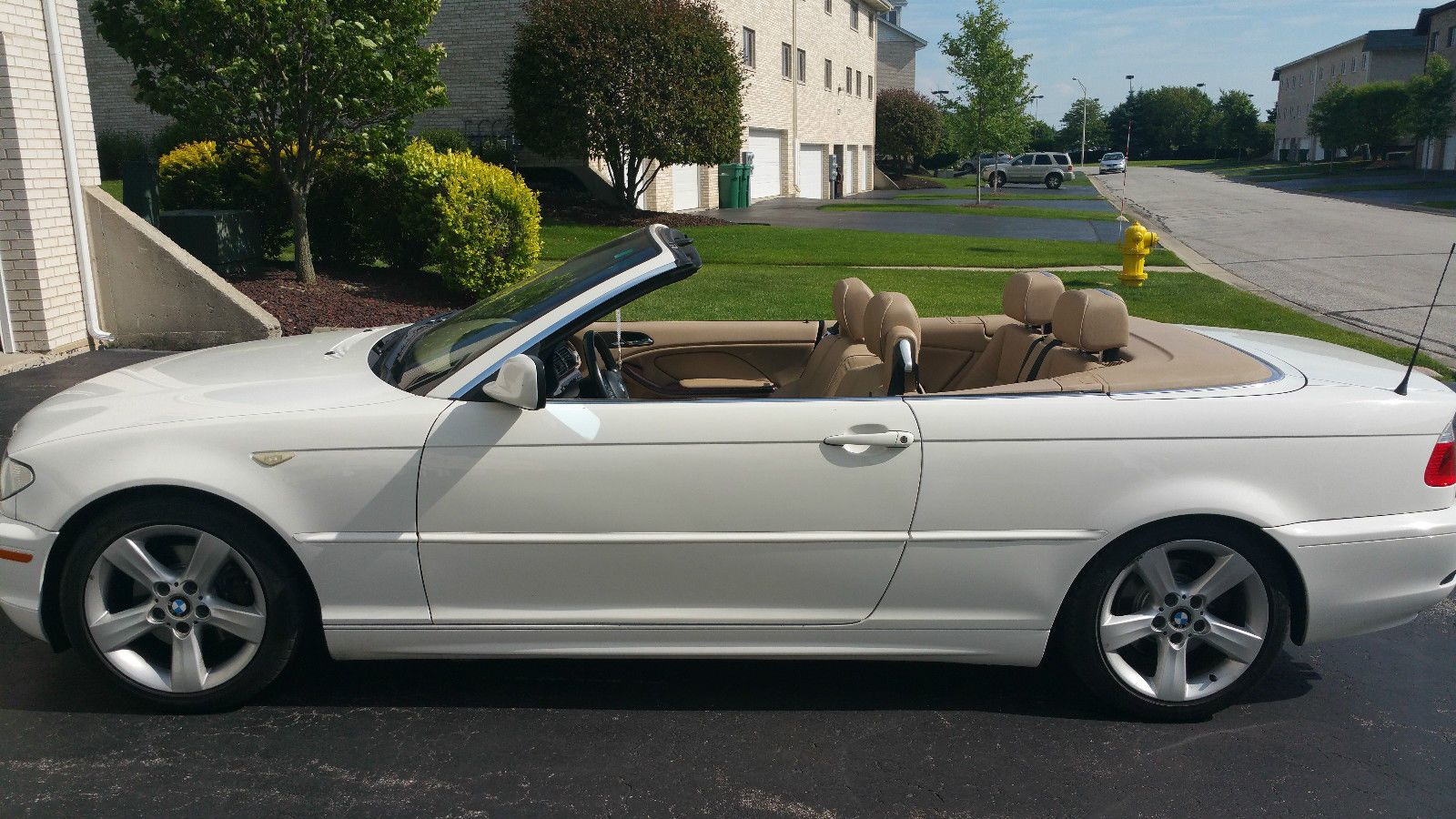 car brand auctioned bmw 3 series 325ci convertible 2005 car model bmw 325 ci convertible white. Black Bedroom Furniture Sets. Home Design Ideas