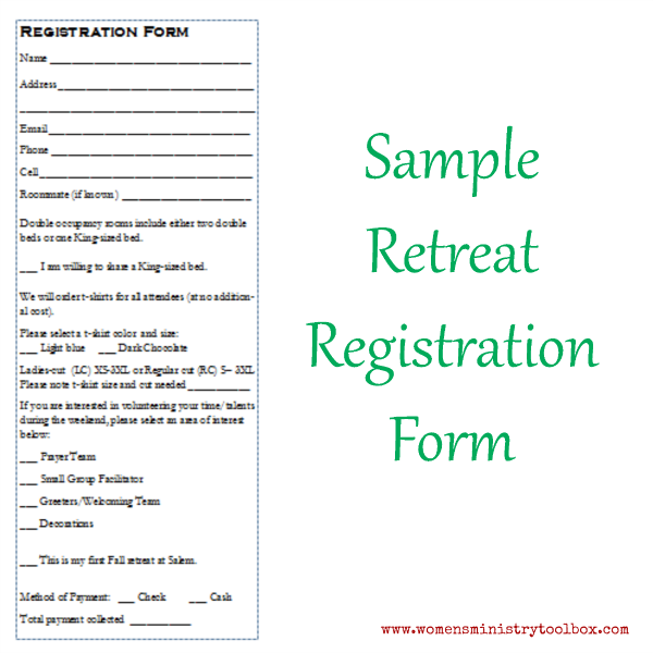 Tip   Creating Registration Forms  Registration Form Toolbox
