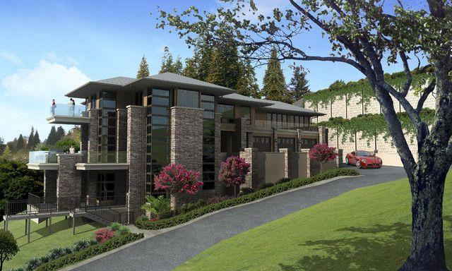 Modern prairie style architecture pinterest facades for Prairie style architecture