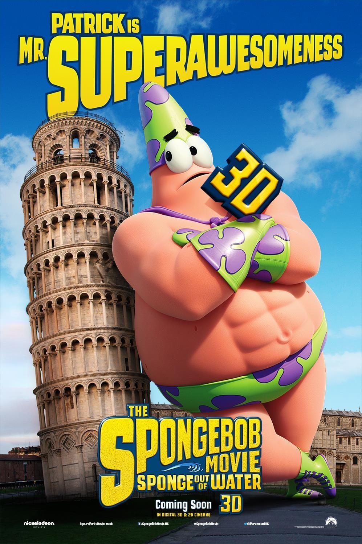 the spongebob movie sponge out of water patrick star uk