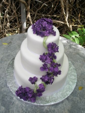 Sugar flowers how to make for wedding cakes