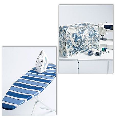 Ironing Board Cover, Sewing Machine Cover and Pin Cushions