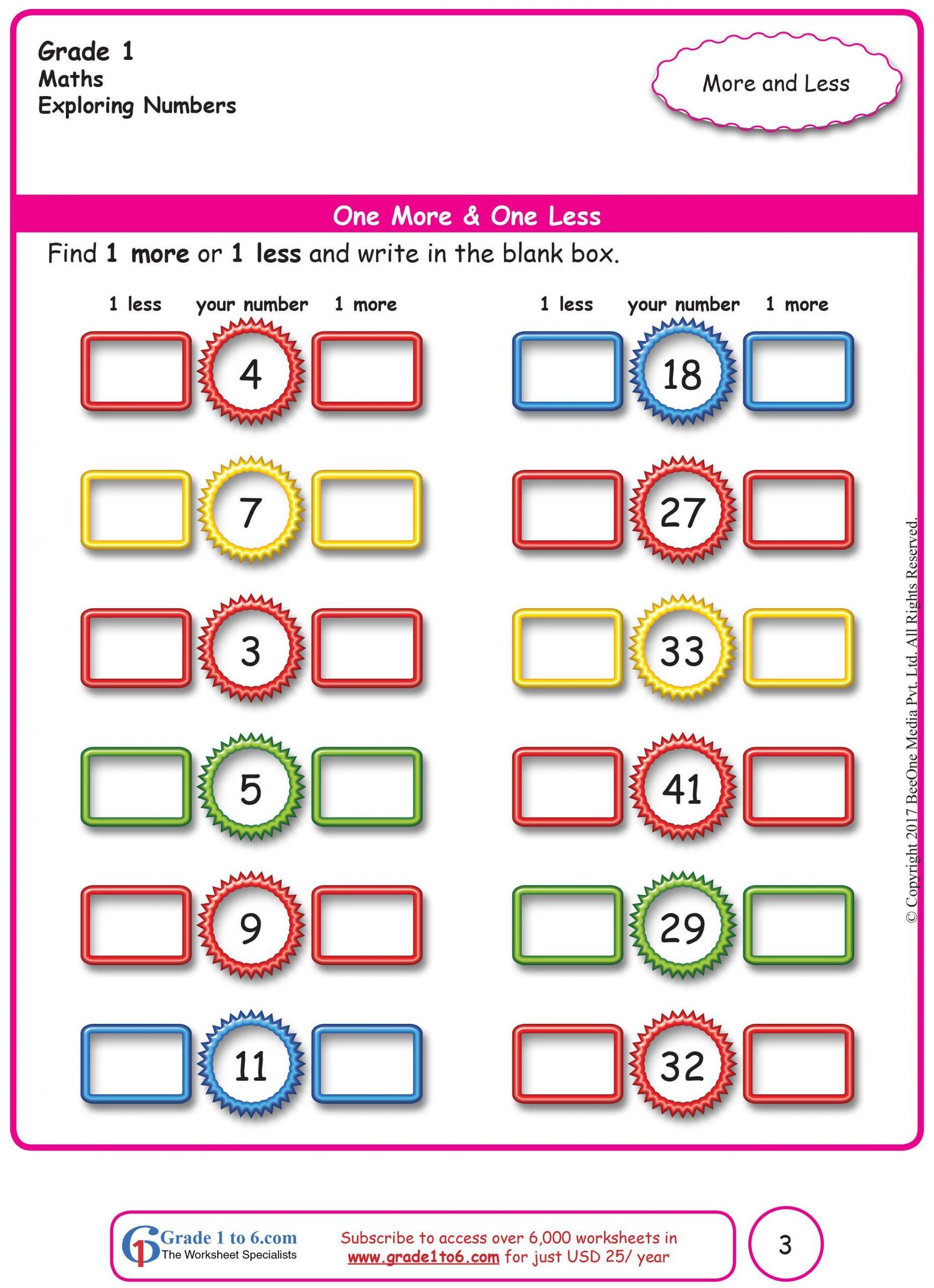 4 Worksheet Printable 2nd Grade Math Worksheets FREE Math worksheets for  Grade 1 thro… in 2020   Basic math worksheets [ 2560 x 1857 Pixel ]
