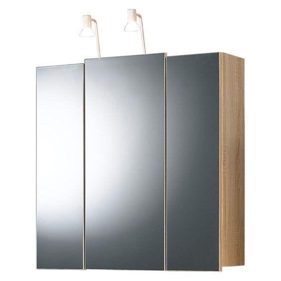 Posseik Spiegelschrank 70 Cm Salona Sonoma Eek A
