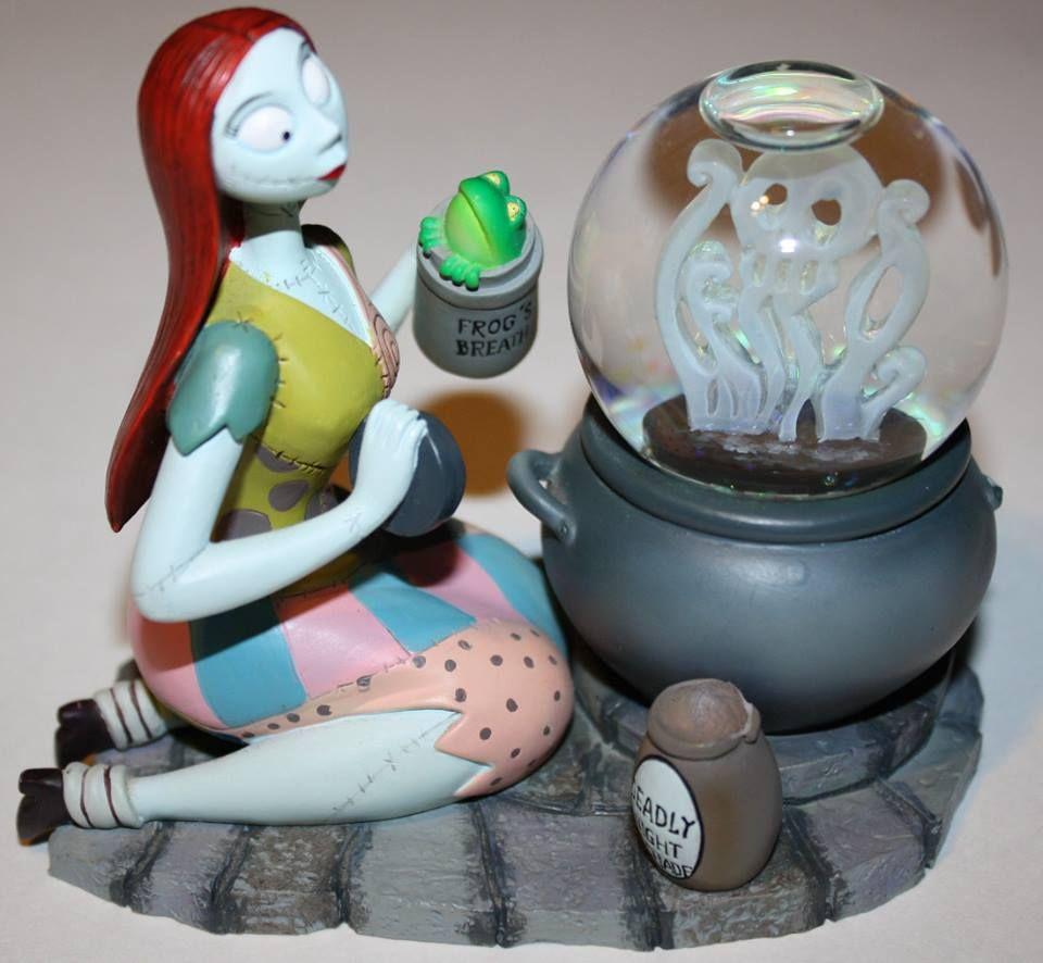 Disney Nightmare Before Christmas Mini Snow Globe Sally | Nightmare ...