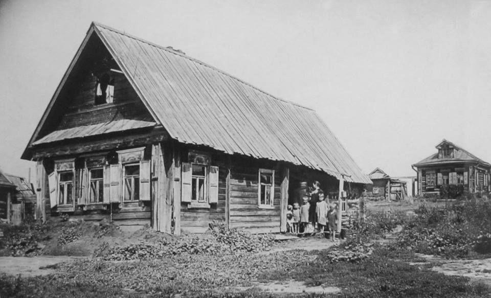 Крестьянская изба в Коломенском, 1934 год. | Россия, Картинки