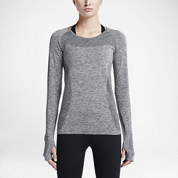 Haut de running Nike Dri-FIT Knit pour Femme   wishlist 3e3642809163