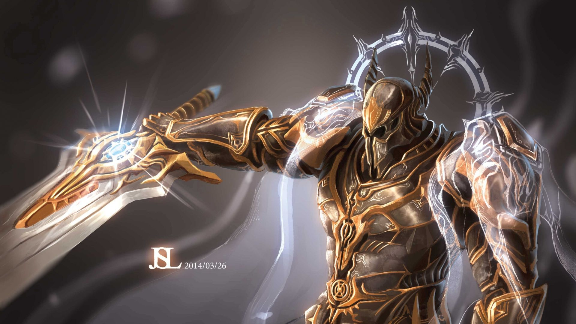 Download Wallpaper 1920x1080 Diablo 3 Diablo Archangel Armor