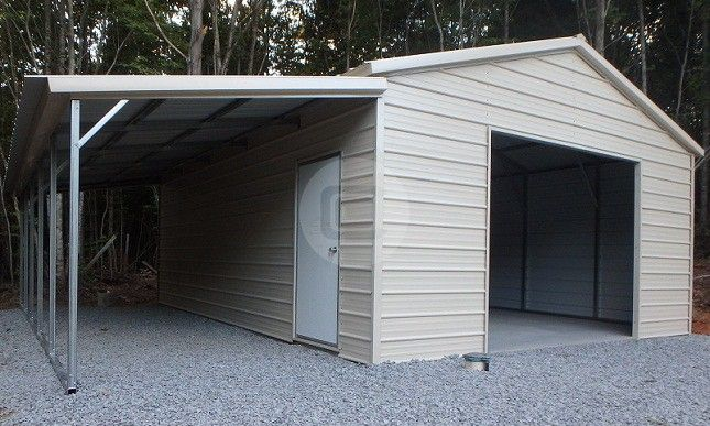 Metal Carports With Storage Space 2021