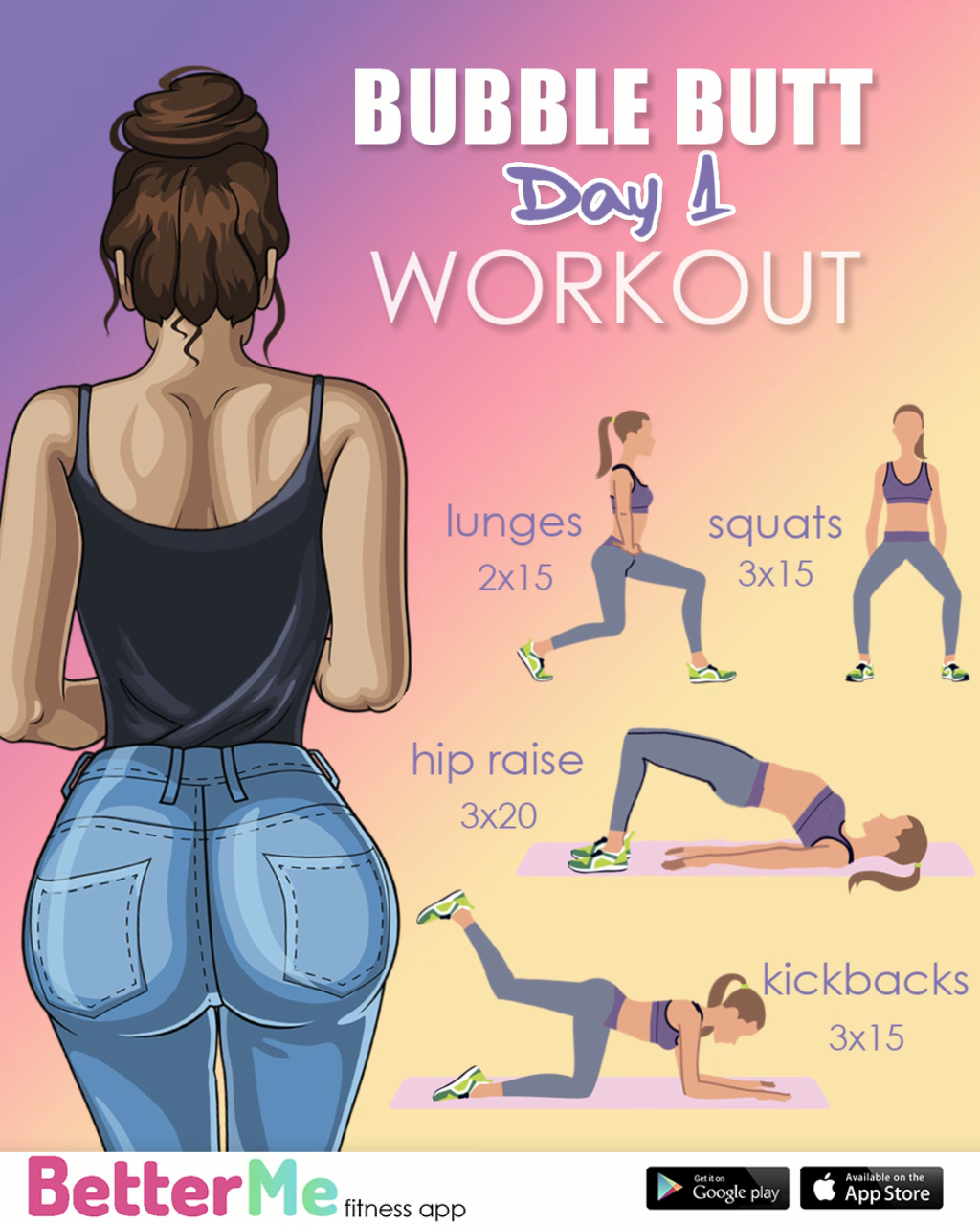 Meal & Exercise Plan for Weight Loss. Toned legs, Perkier Butt, Flatter Belly. #workathome