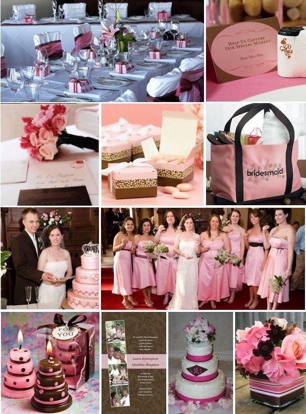 Dcoration De Mariage Rose Chocolat Sweet Wedding Ideas