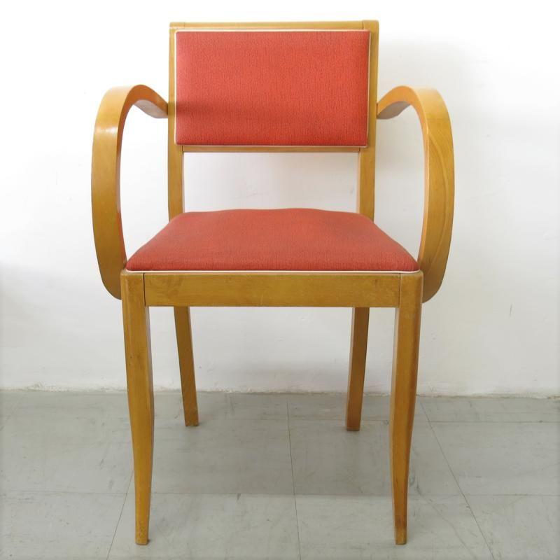 fauteuil bridge vintage rouge en vente sur wwwbaosfr
