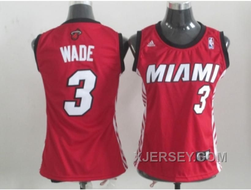 http://www.xjersey.com/hot-women-nba-miami-heat-3-wade-red.html HOT WOMEN NBA MIAMI HEAT #3 WADE RED Only $34.00 , Free Shipping!
