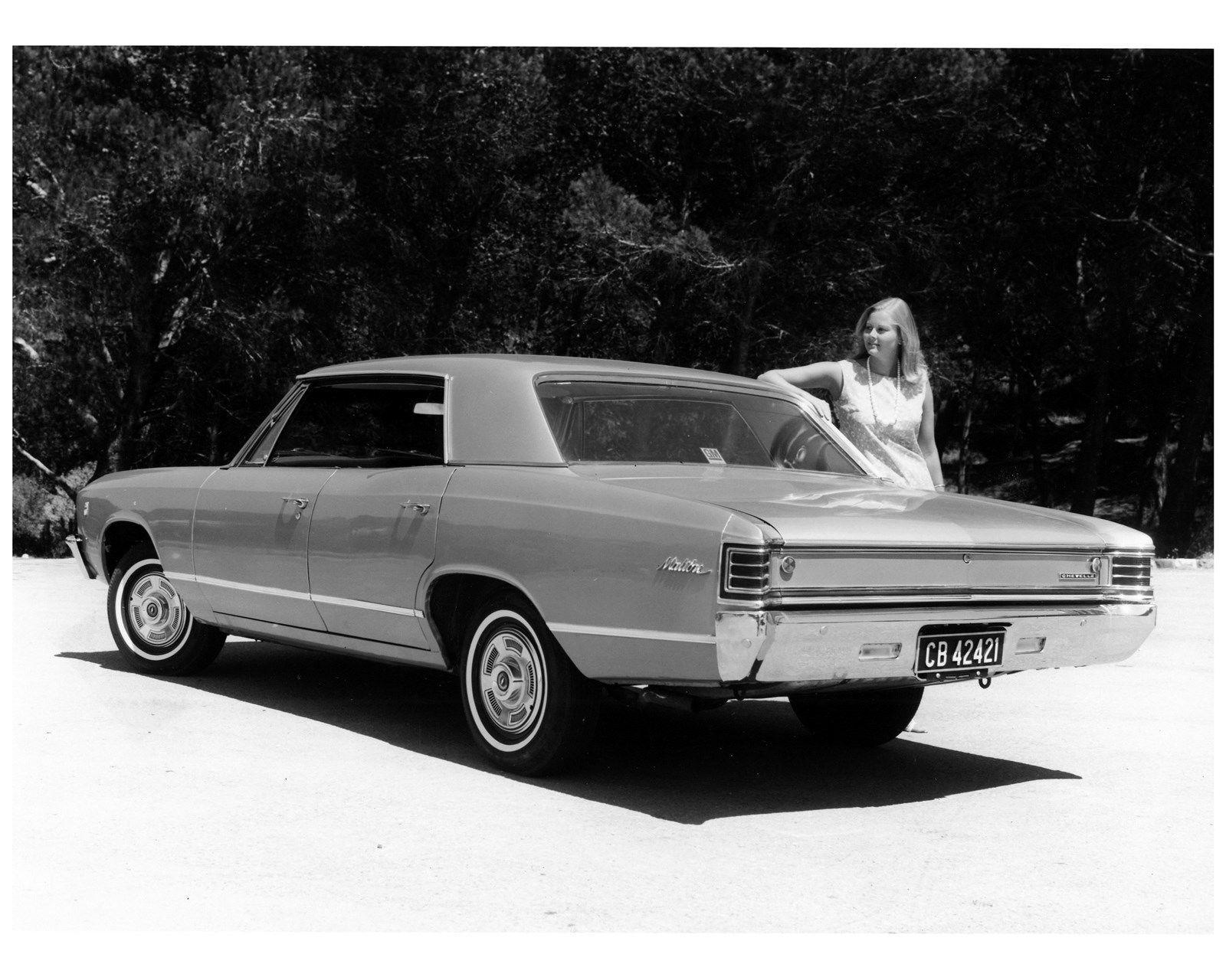 1967 Chevrolet South Africa Chevelle Malibu Sport Factory Photo